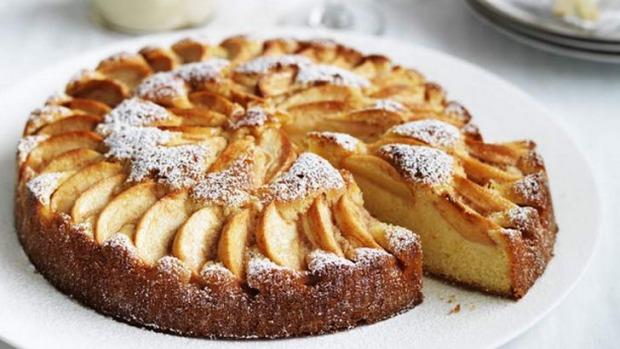 bolo de maçã Italiano