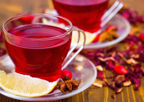 Chá de Hibiscu